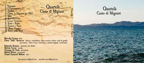 Album Canto di Migranti dei Quartelà