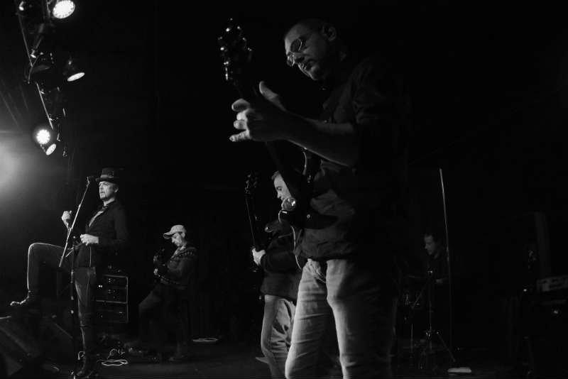 band rock Roma il volo di colin
