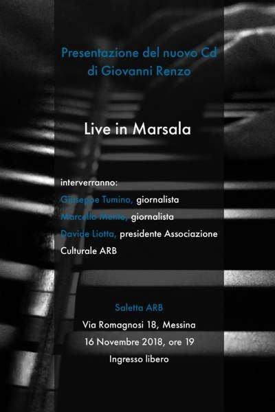 Presentazione del Cd Live in Marsala